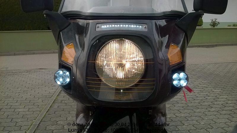 Legal: Sichtbarkeit erhöhen mit Positionsleuchten im Blinker - Honda ...