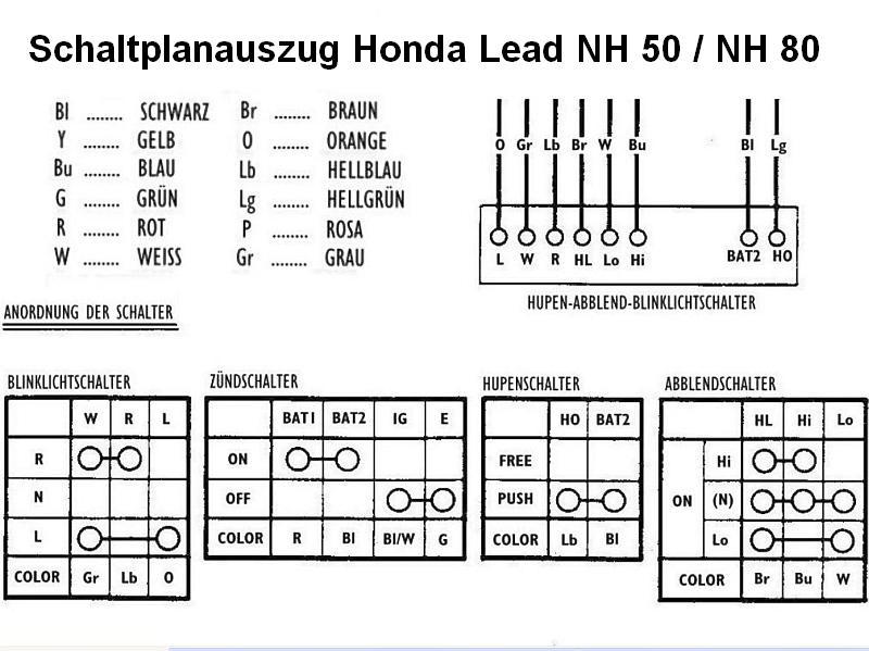 Erfreut Honda 50cc Schaltplan Galerie - Der Schaltplan - greigo.com
